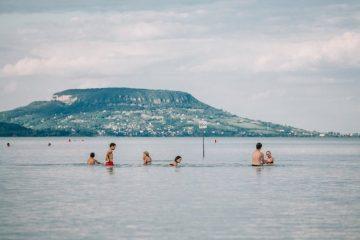 balatongyoroki strand badacsony