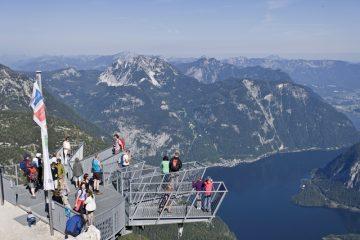 Dachstein 5fingers kilátó panoráma