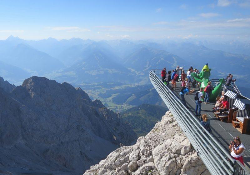 Dachstein Skywalk kilátó