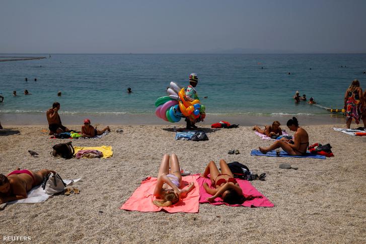 görögország tengerpart beach